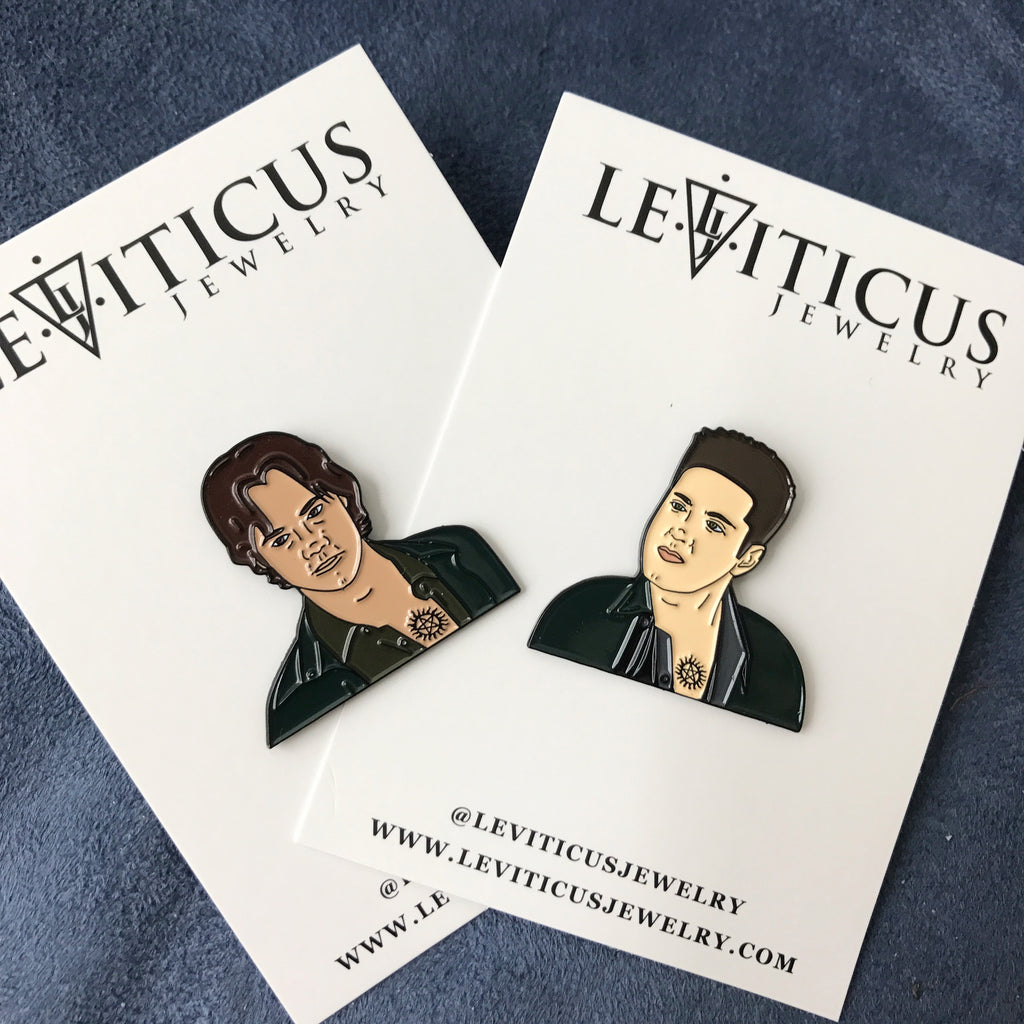 Supernatural Winchester Boys Pins