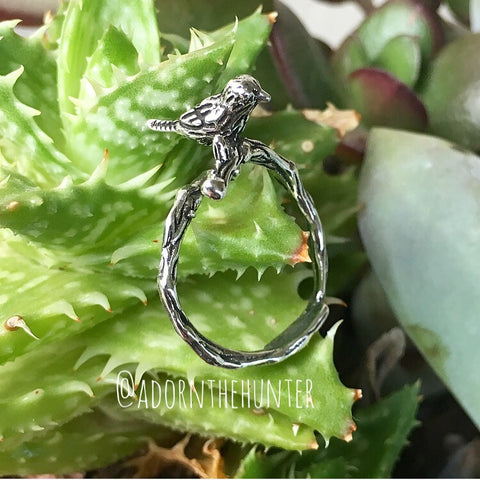 Tiny Bird Ring