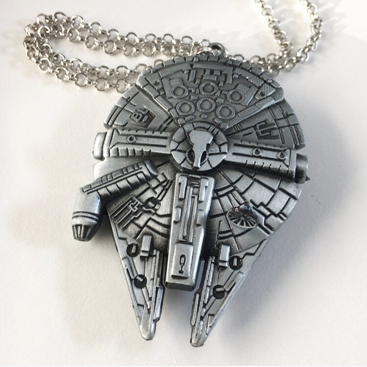 Millennium Falcon Pendant Necklaces
