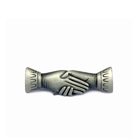 Victorian Clasped Hands Pin