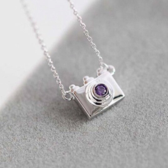 Tiny Camera Necklace