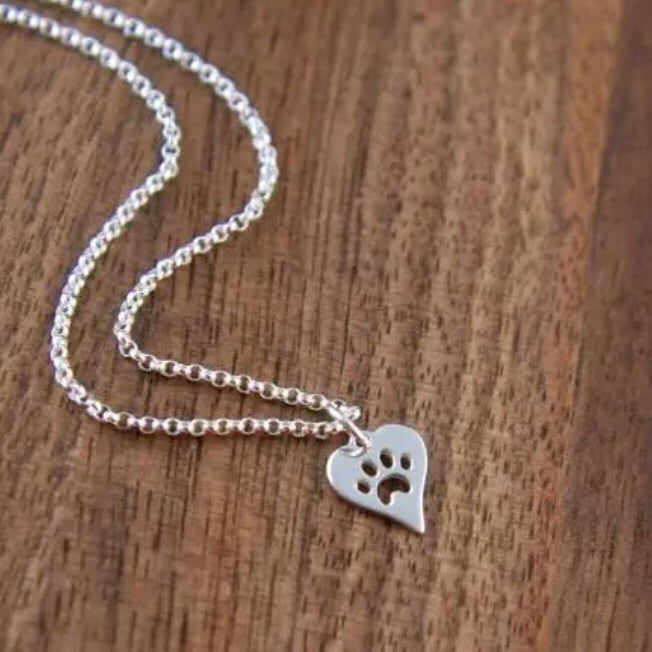 Paws On My Heart Necklace