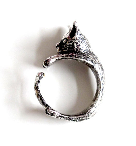 Kitty Wrap Ring