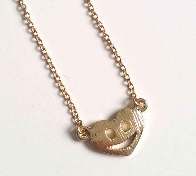 Smile Emoticon Necklace