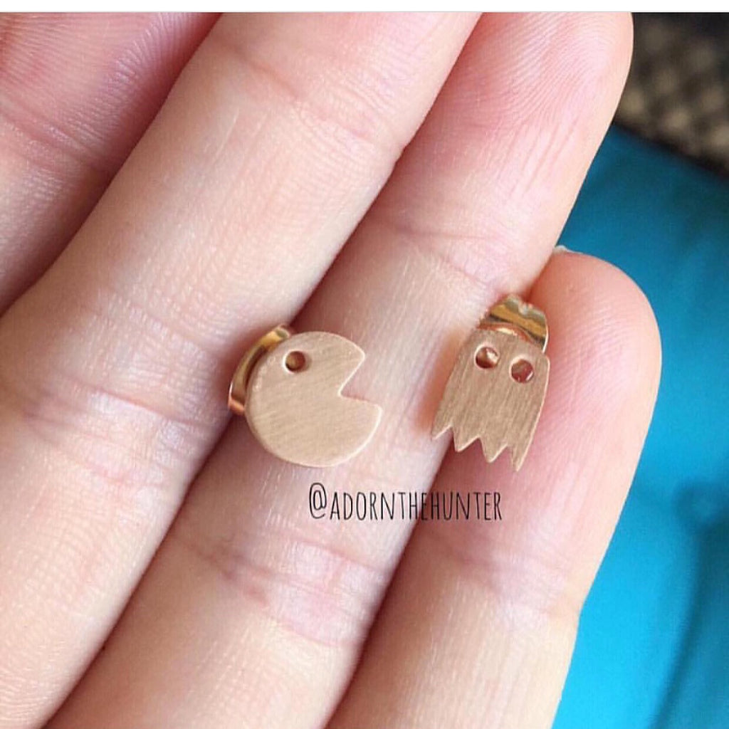 Pacman Earrings