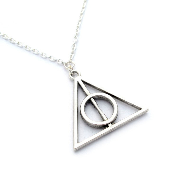 Spinning Deathly Hallows Necklace