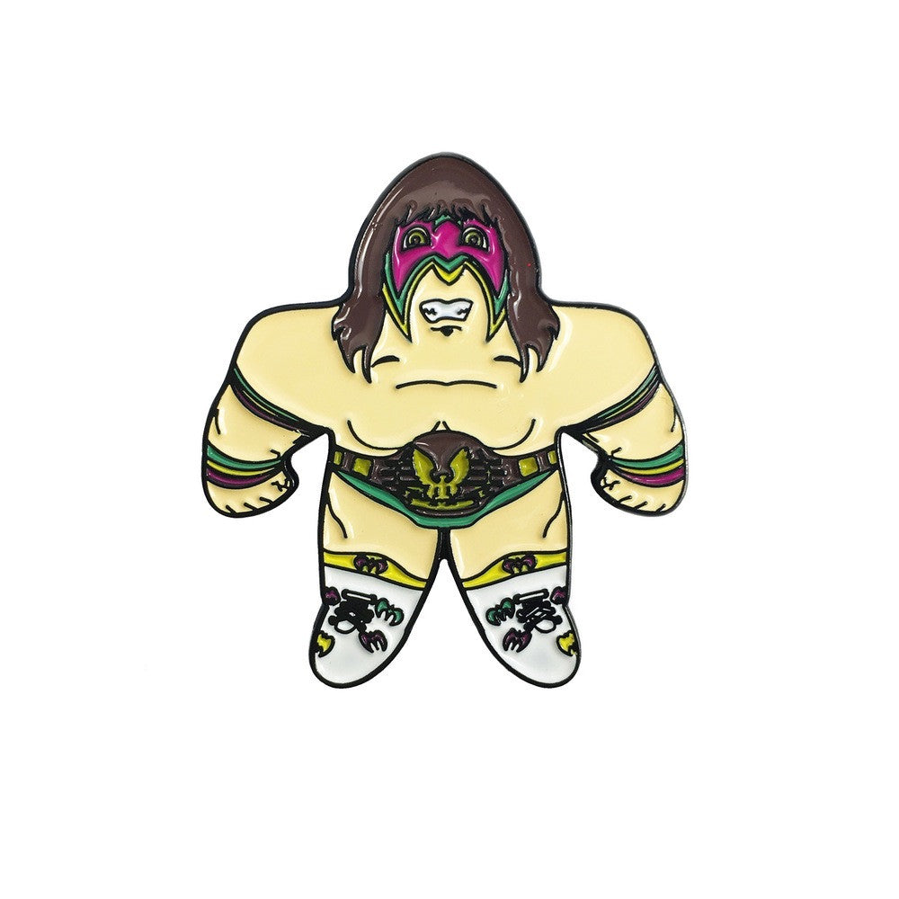Warrior Wrestling Buddy Pin