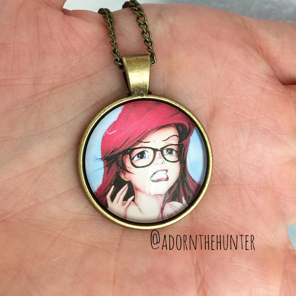 Hipster Ariel Necklace