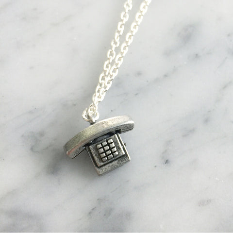 Telephone Necklace