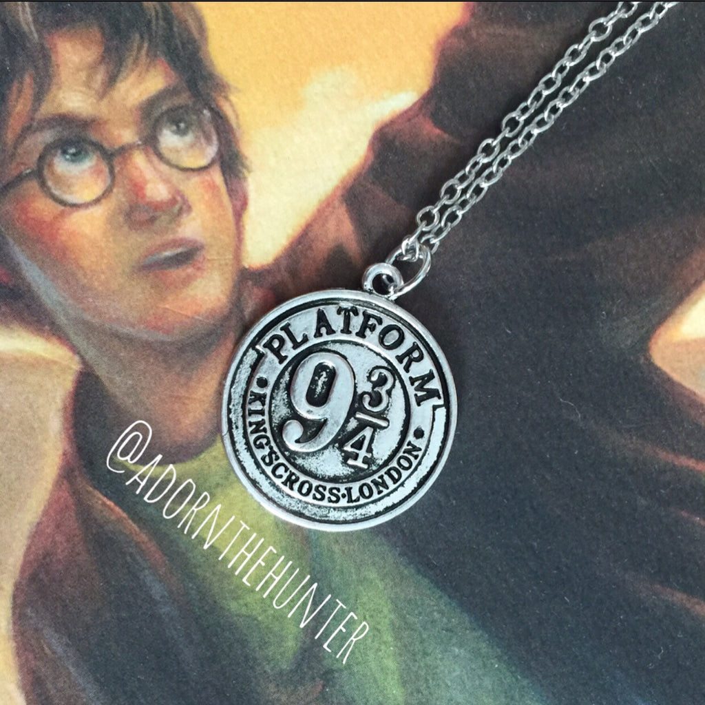 Platform 9 3/4 Token Necklace