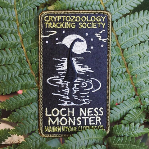 Cryptozoology Tracking Society: Loch Ness Monster Patch