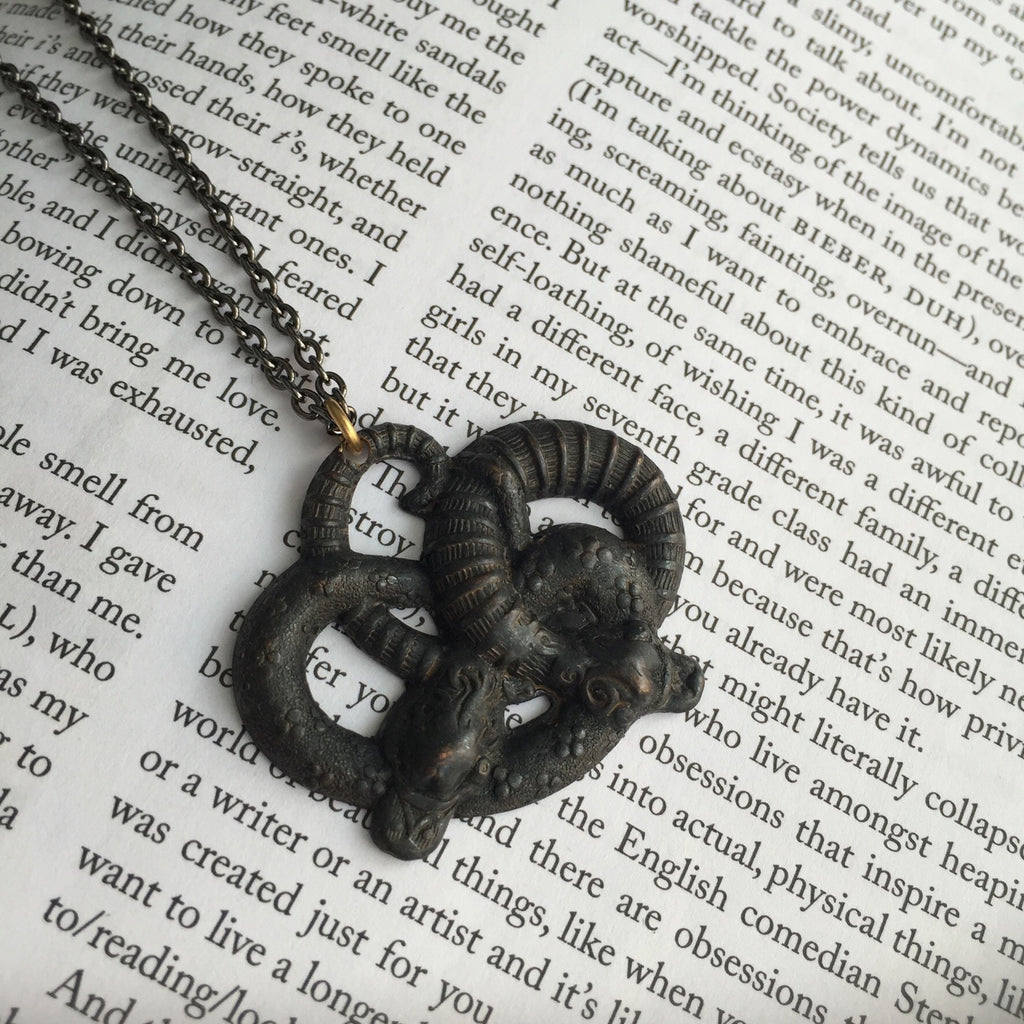 Serpent Knot Necklace