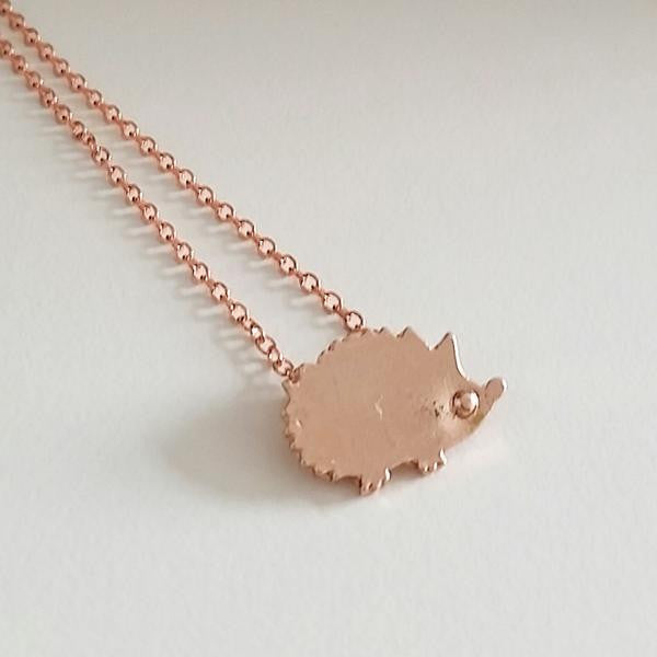 Hedgehog Necklace