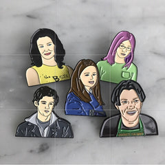 Gilmore Girls Pin Set