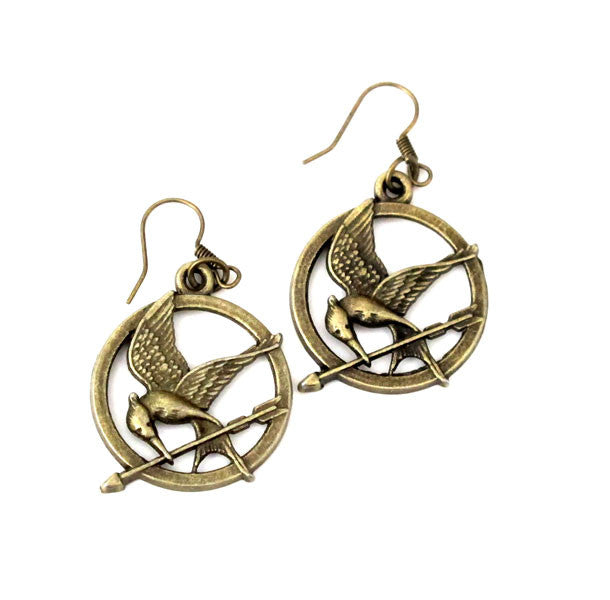 Mockingjay Earrings