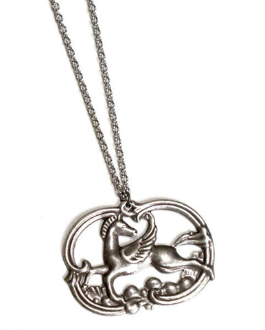 Pretty Pegasus Necklace
