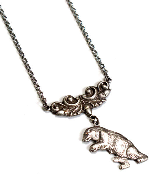 Ferocious Bear Necklace
