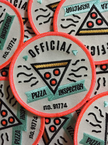 Official Pizza Inspector Patch