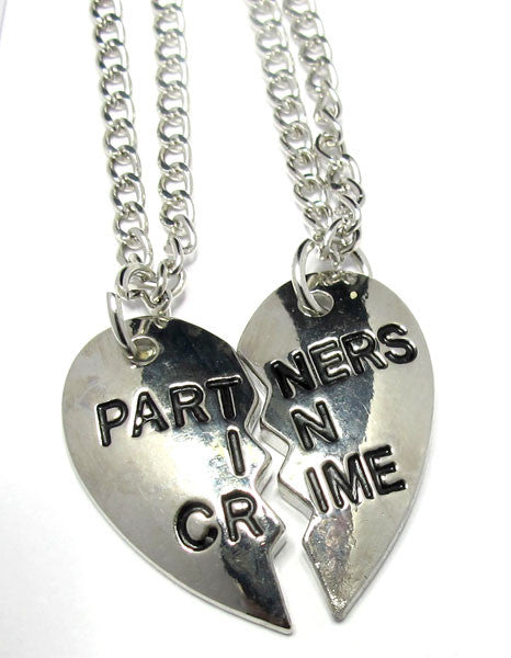 Partners In Crime Necklace