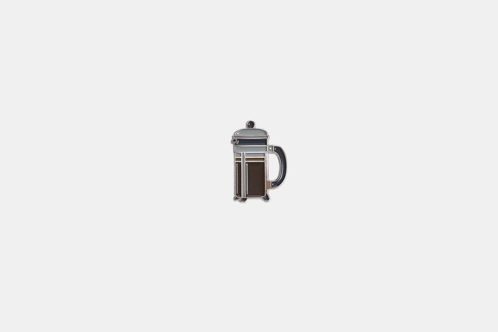French Press Pin