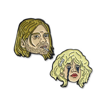 Kurt and Courtney Pin Pack