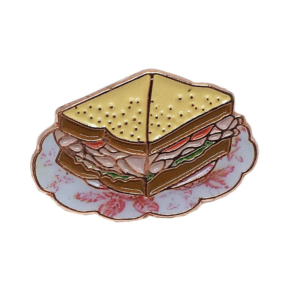Teeny Turkey Sandwich Pin