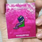 Purple Sprite Pin