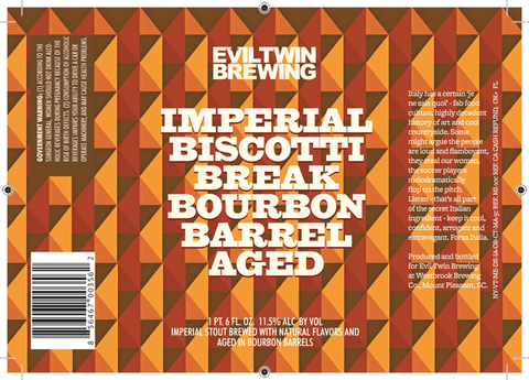 Friday Landings - The Rare Barrel and Bourbon Aged Imperial Biscotti Break!