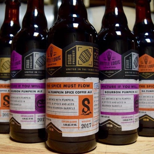 Superstition Meadery Shipping Oout - Bottle Logic Pumpkin Beers - Sour Cellars and Dionysus Brewing Sours