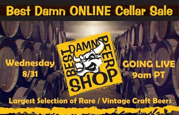 Best Damn ONLINE Cellar Sale II Wednesday August 31st 9:00AM PST