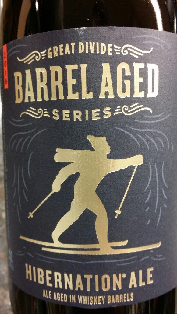 Great Divide HIBERNATION ALE barrel 750ml
