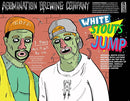 ABOMINATION BREWING WHITE STOUTS CAN'T JUMP 16oz can