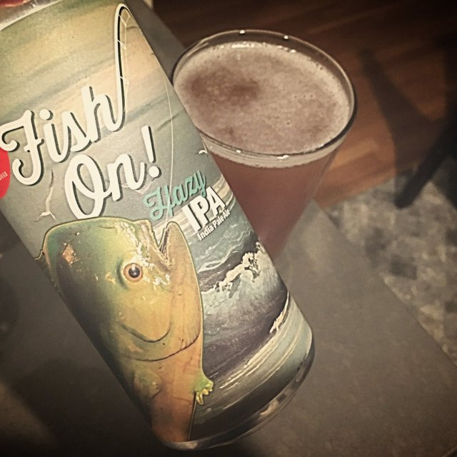 Fall Brewing Company Fish On! Hazy IPA 16oz cans