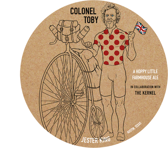 Jester King Colonel Toby 750ml LIMIT 1