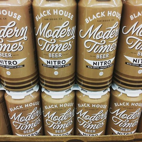 Modern Times Beer NITRO Black House 16oz CANS LIMIT 24