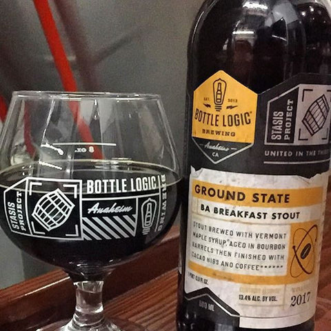 Bottle Logic Brewing Ground State BA Breakfast Stout 22oz LIMIT 1