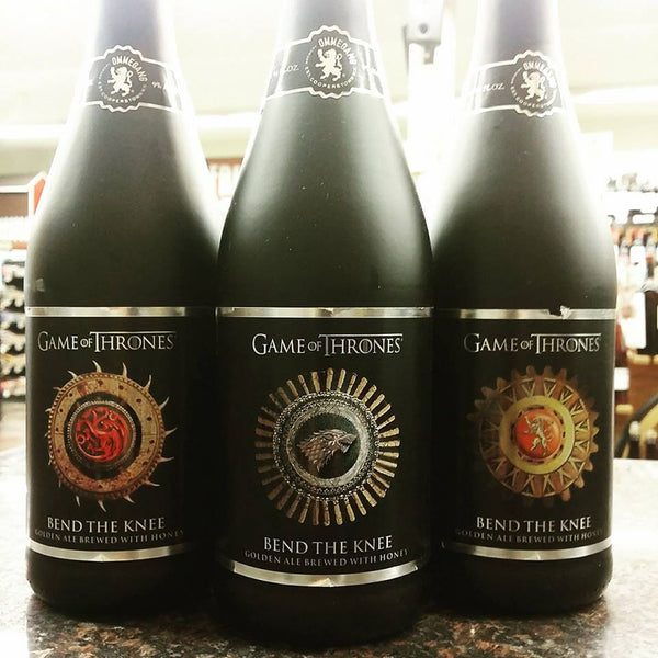 Ommegang Game of Thrones Bend The knee golden ale 750ml