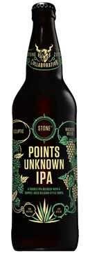 Stone Brewing Points Unknown IPA 22oz