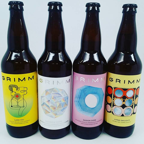 Grimm Brewing BOX 4 SOUR Pack LIMIT 1 (4) PACK per person