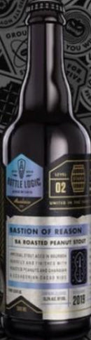 BOTTLE LOGIC BREWING 2019 BA ROASTED PEANUT STOUT 500ml (LIMIT 1 PER PURCHASE)