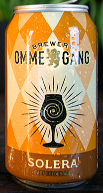 OMMEGANG BREWERY SOLERA TART GOLDEN ALE 12oz can