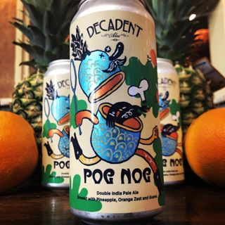 Decadent Ales POG Nog Double IPA 16oz CANS