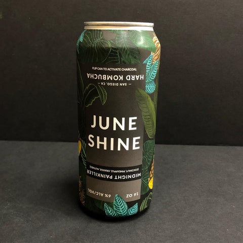 JUNESHINE HARD KOMBUCHA MIDNIGHT PAINKILLER 16OZ CAN