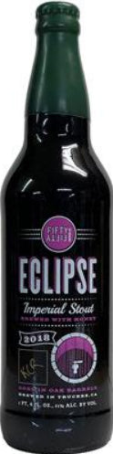 FIFTY FIFTY BREWING CO. ECLIPSE 2018 KNOB CREEK RYE BARREL AGED IMPERIAL STOUT 22oz