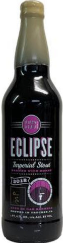 FIFTY FIFTY BREWING CO. ECLIPSE 2018 MAPLE BARREL AGED IMPERIAL STOUT 22oz