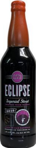 FIFTY FIFTY BREWING CO. ECLIPSE 2018 PEACH BRANDY BARREL AGED IMPERIAL STOUT 22oz