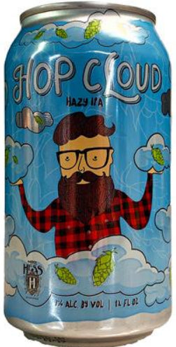 MIKE HESS BREWING HOP CLOUD HAZY IPA 12oz can
