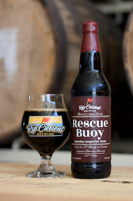 Rip Current Brewing Rescue Buoy Russian Imperial Stout 22oz LIMIT 1