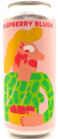 MIKKELLER RASPBERRY BLUSH WITH RASPBERRIES AND COFFEE BERLINER WEISSE 16oz can