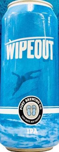 PORT BREWING CO. WIPEOUT IPA 16oz can